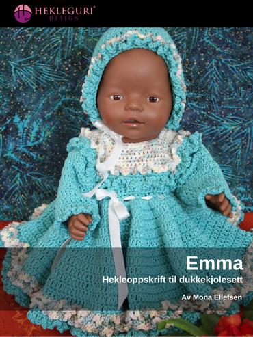 Emma-dukkekjole-hekleoppskrift