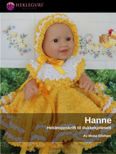 Hanne-kjolesett-hekleoppskrift