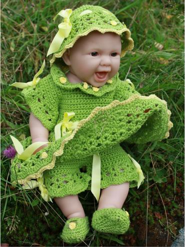 Amalie-kjolesett-hekleoppskrift