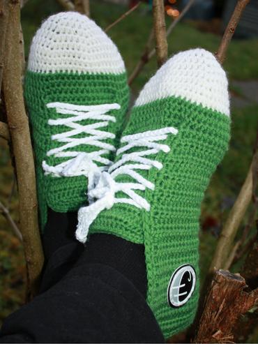 sokk-hekleoppskrift