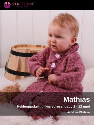 Mathias-hekleoppskrift