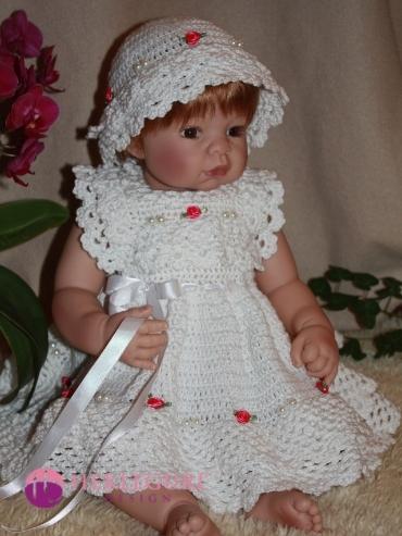 kjole hekleoppskrift