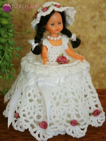 toilet paper cover doll toiletpapercoverdoll crochet pattern